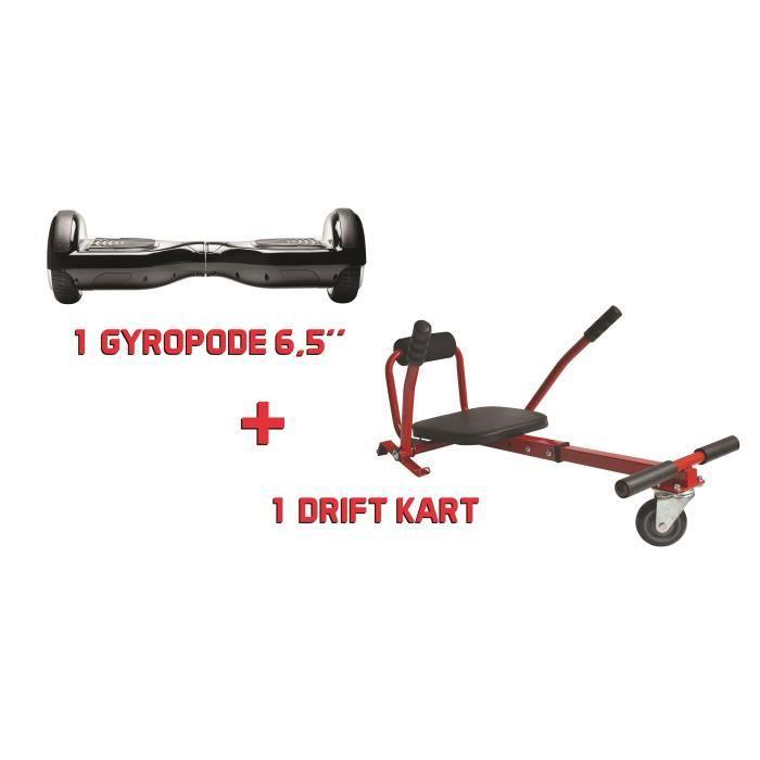 Hoverboard + Kit Kart - Super Drift Pack Rouge - Pack Hoverboard