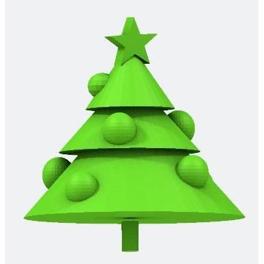 Suspension Sapin de Noël personnalisée