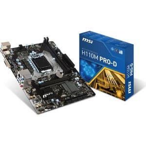 MSI Carte m?re H110M PRO-D