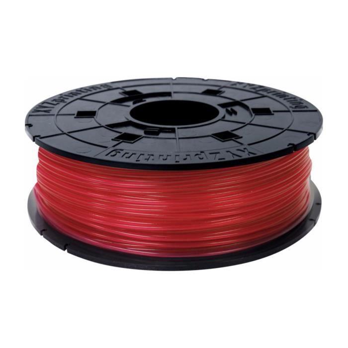 XYZ Printing Consommable 3D Filaments PLA Da Vinci Junior Rouge 600g