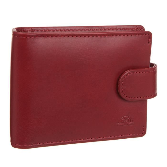 TONY PEROTTI Porte-cartes Cuir Végétal NW2392R Rouge Homme