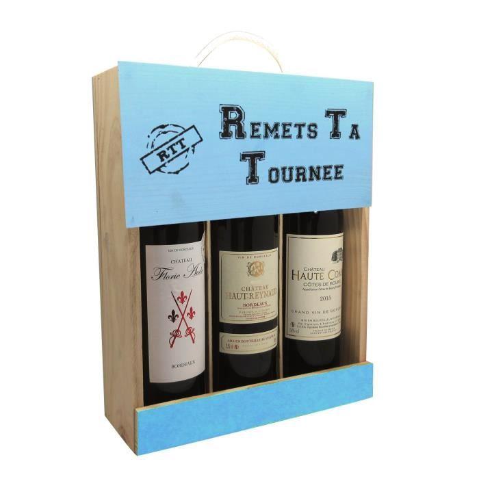 Coffret Vin RTT 3 bouteilles