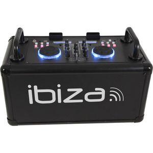 IBIZA SOUND DANCE-PARTY - Syst?me de sonorisation DJ mobile avec Bluetooth - 200W - Noir