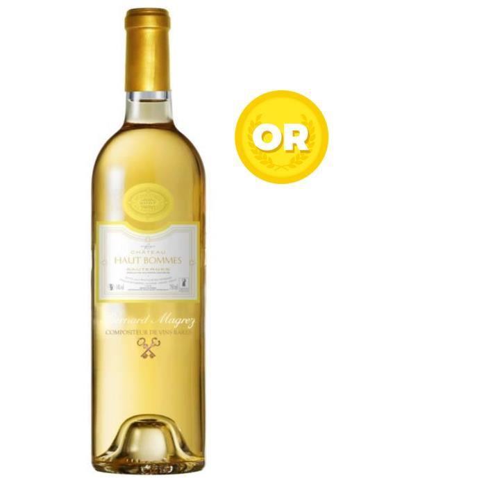 Château Haut Bommes - Sauternes - Millésime 2007 - Médaille d'Or au Concours des Vignerons Indépendants 2010 - Vin blanc liquoreuxVIN BLANC