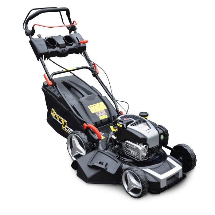 GARDEO Tondeuse   51cm 163cc B&S Démarrage électrique auto-tractée