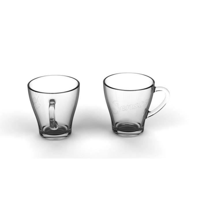 PHILIPS SENSEO Lot de 2 tasses à espresso