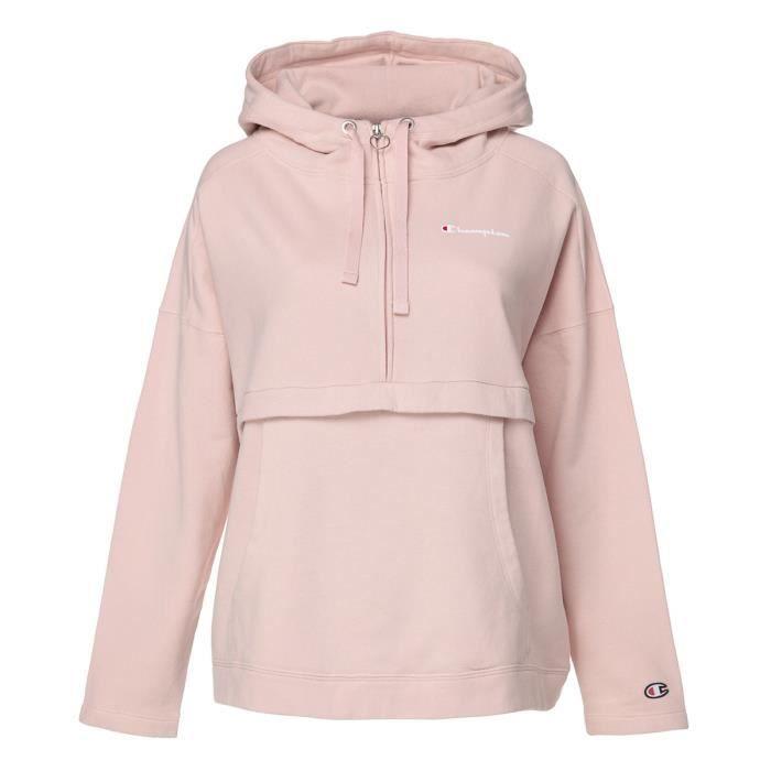 CHAMPION Sweatshirt à capuche - Femme - Rose