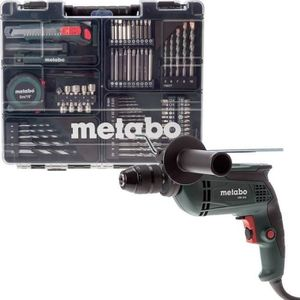 METABO Perceuse ? percussion 650W avec 80 accessoires