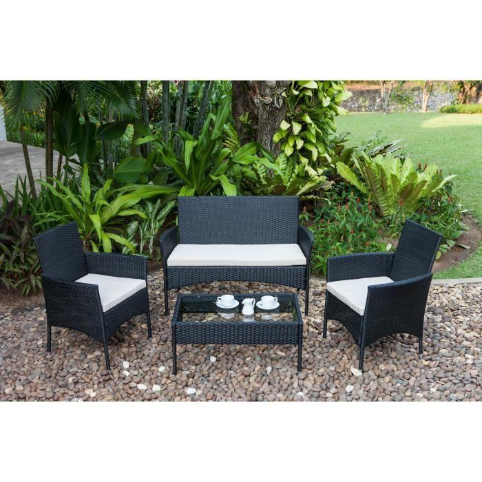 salon de jardin beau rivage. Black Bedroom Furniture Sets. Home Design Ideas
