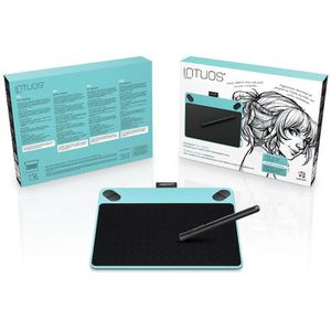 Wacom Tablette Graphique Intuos Draw Blue Pen Only Small