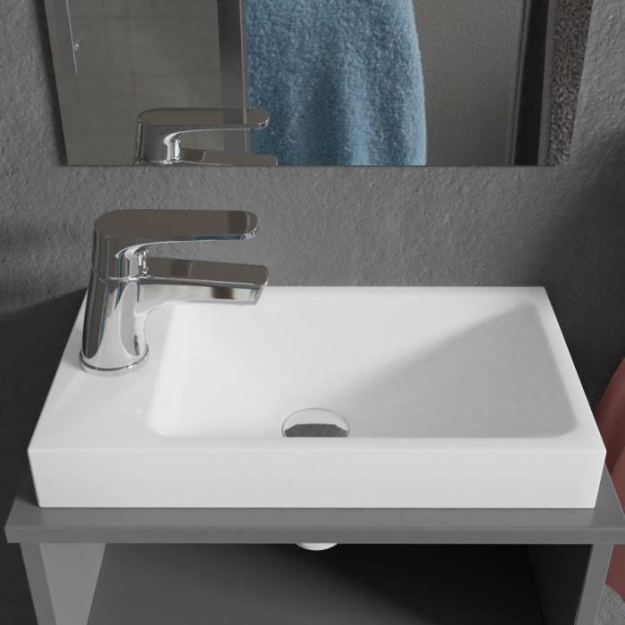 CREAZUR Lave-main résine 22x40cm