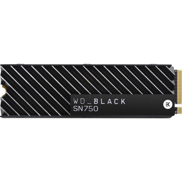 WD Black™ - Disque SSD Interne - SN750 - 1To - M.2 NVMe (WDS100T3XHC-00SJG0)