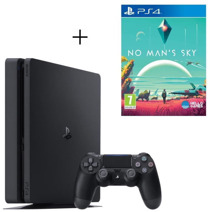 Pack PlayStation : PS4 500 Go Noire + No Man's Sky