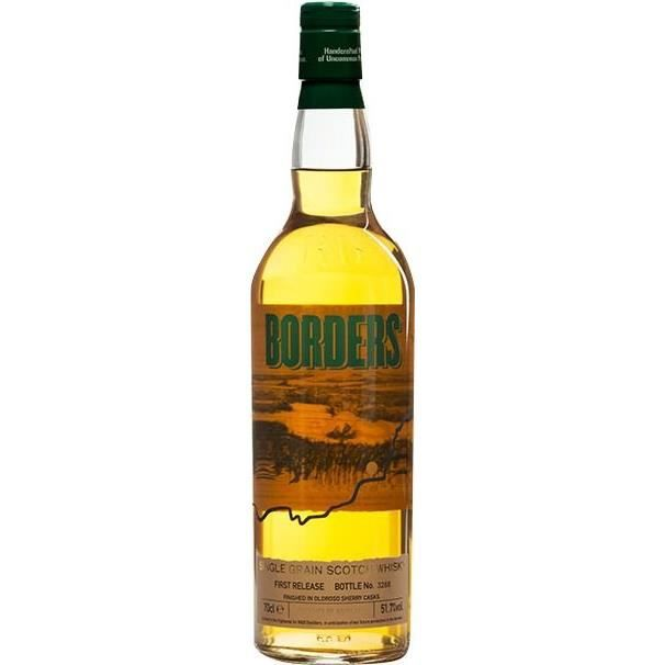 Whisky Borders - Single Grain 51,7% 70clWHISKY-BOURBON-SCOTCH