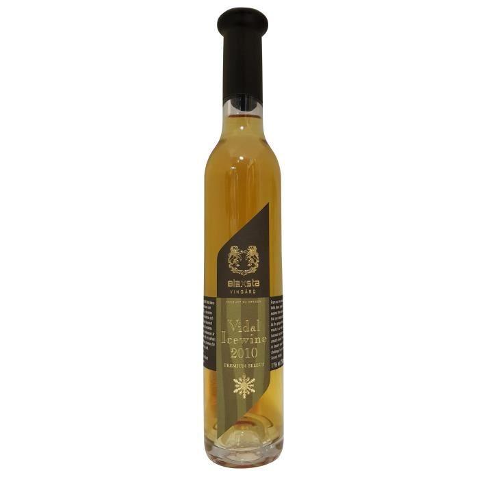Blaxsta Vingard 2010 Vidal Ice Wine Premium Select - 25 cl - Vin Blanc de Suède