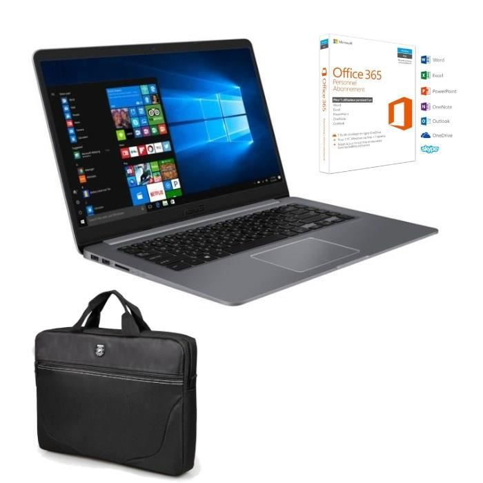 Pack PC Portable Vivobook R520UA-BR580T 15,6\