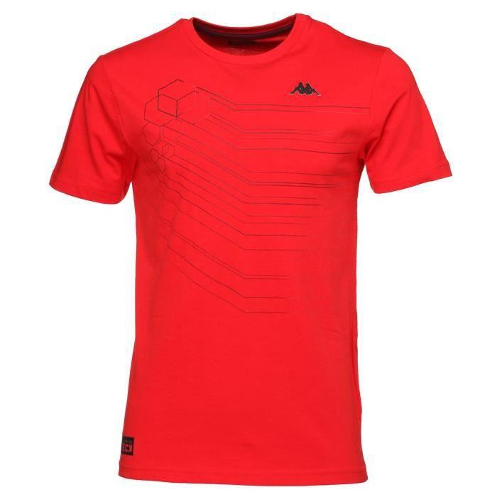 KAPPA T-shirt Soren - Homme - Rouge
