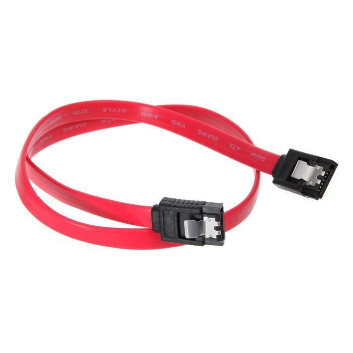 CONTINENTAL EDISON Câble Serial ATA mâle / mâle 50 cm