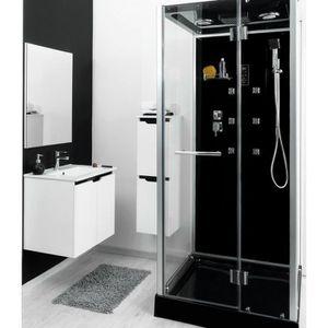 Cabine de douche hydromassante Ytal 90x90cm