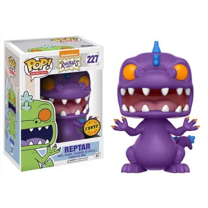 Figurine Funko Pop! Les Razmoket: Reptar Chase Edition