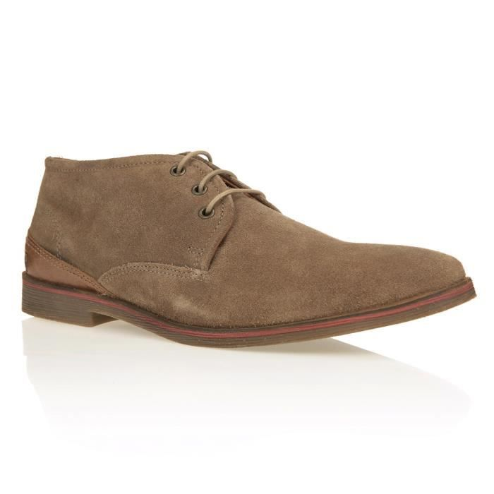 REDSKINS Bottines Arfi Chaussures Homme Taupe