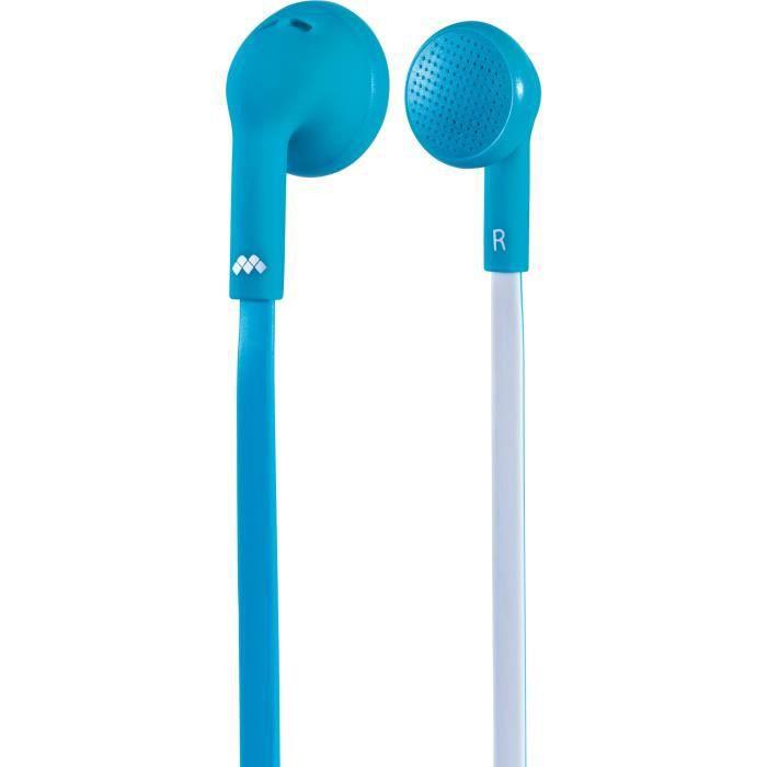 Ecouteurs avec micro intégré - Appel mains libres - Commutateur musique - Haute qualité du sonCASQUE - ECOUTEURS