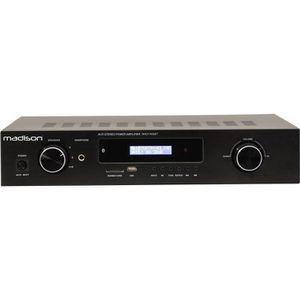 MADISON MAD1400BT Amplificateur Hi-fi stéréo 2x100W RMS Noir