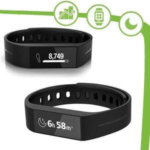 STRIIV TOUCH Bracelet connecté SmartWatch noir
