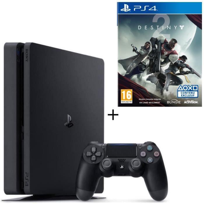 Pack PS4 500 Go + Destiny 2 Jeu PS4