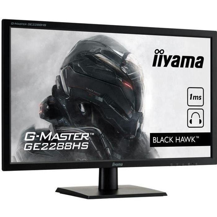 Ecran gamer - 21.5 pouces - IIYAMA - GE2288HS-B1
