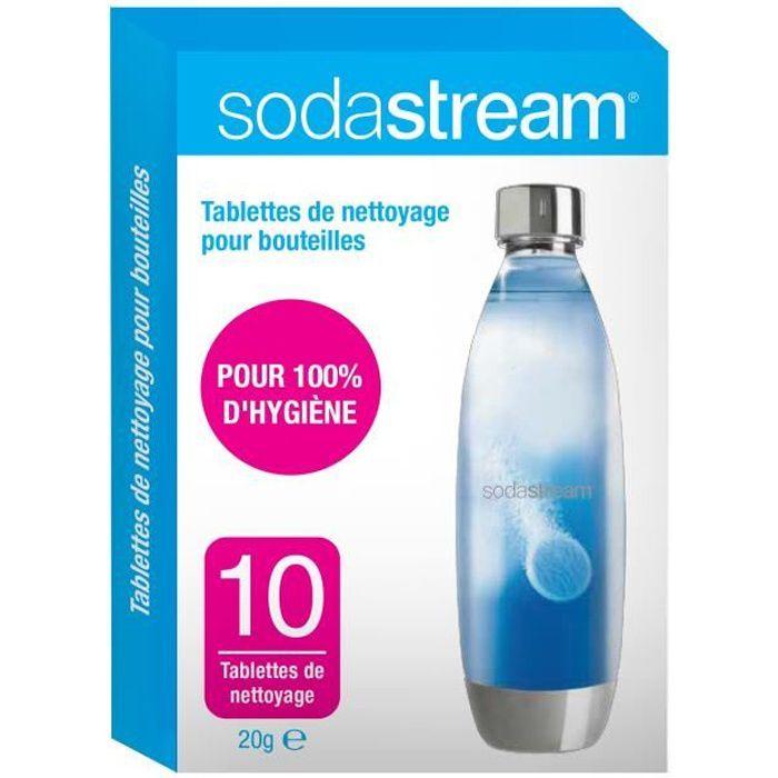 SODASTREAM 30061954 Tablettes de nettoyage pour bouteilles x10