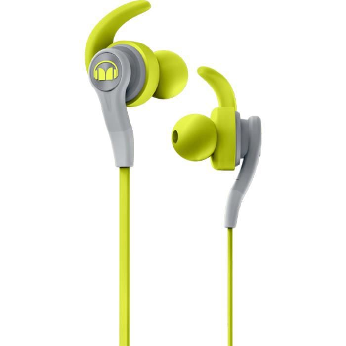 MONSTER ISPORT COMPETE Ecouteurs Sport intra-auriculaires Verts
