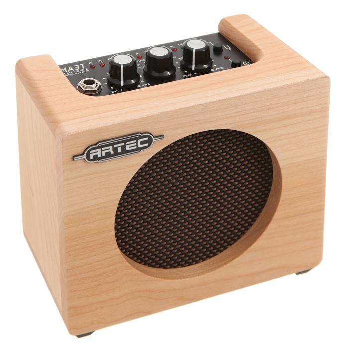 ARTEC mini ampli bois pour guitare