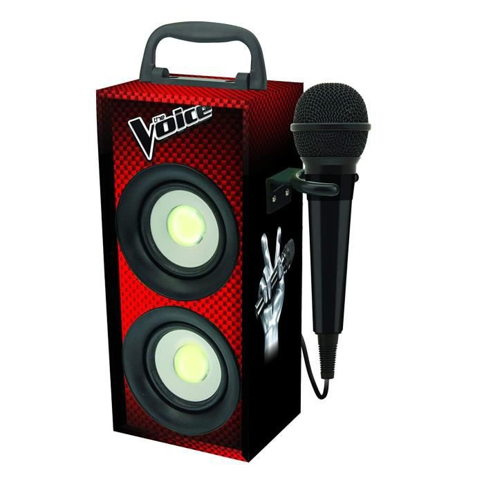LEXIBOOK - DECOTECH - Mini tour Bluetooth® avec micro The Voice