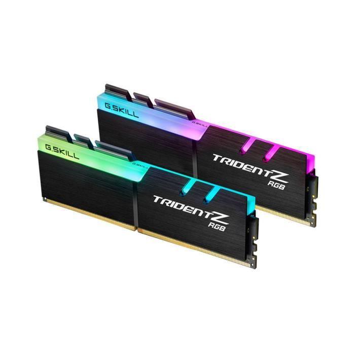 G.Skill Mémoire PC Trident Z RGB - DDR4 - Kit 16Go (2x 8 Go) - 3000 MHz - CL14