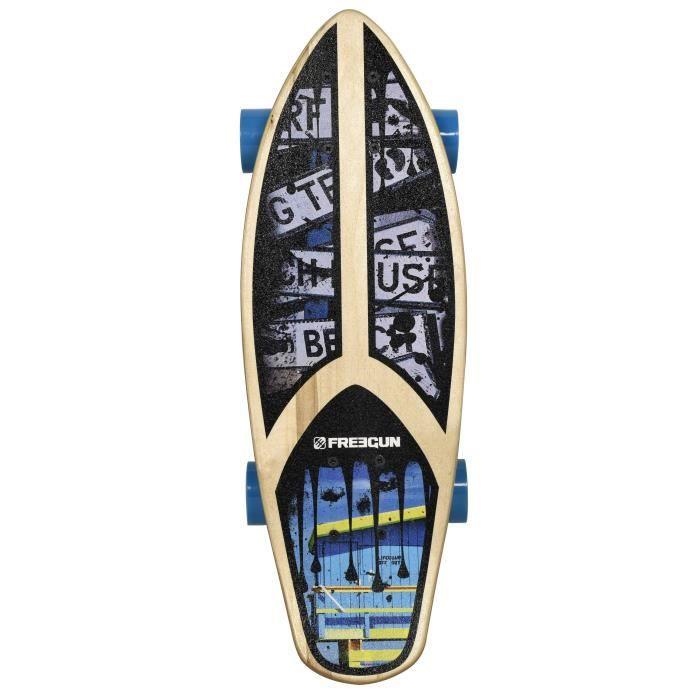 FREEGUN Skateboard Fat Cruiser 23''