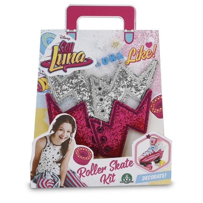 Giochi Preziosi-Soy Luna - Kit pour Patins-à partir de 3 ans-Fille-livré à l'unitéPATIN A ROULETTE - PATIN QUAD