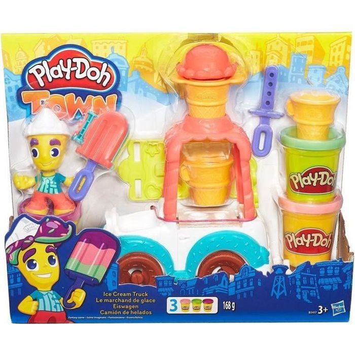 PLAY-DOH TOWN - Marchand De Glaces
