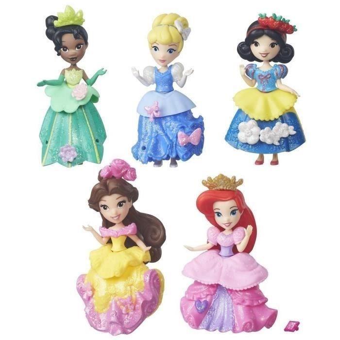 Disney princesses mini poupées 8cm le pack collector