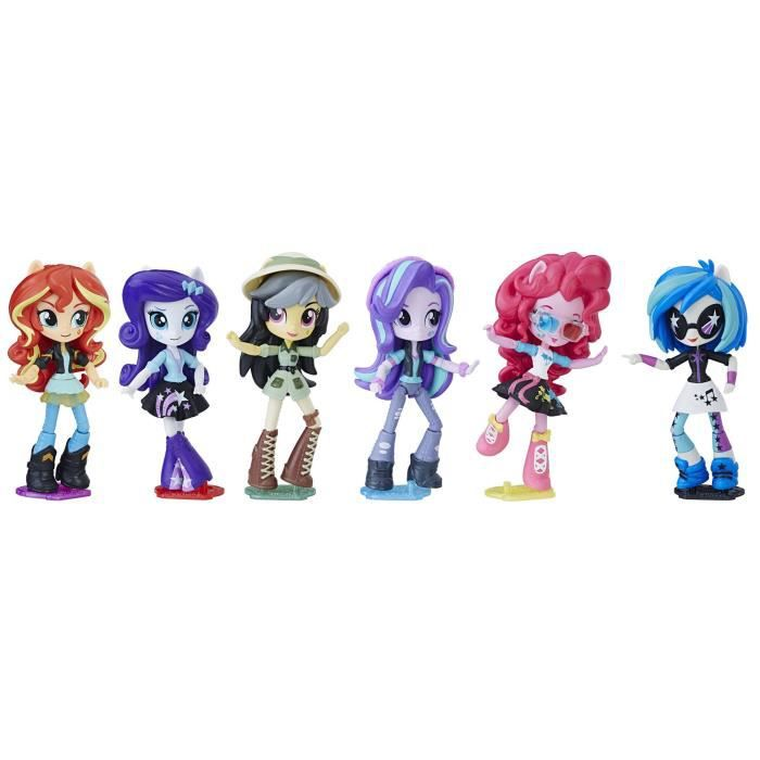 MY LITTLE PONY - Equestria Girls - Pack Collection 6 Poupées