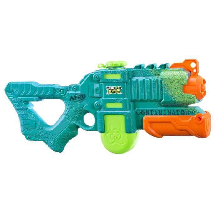 NERF SUPER SOAKER - Zombie Contaminator - Pistolet à eau