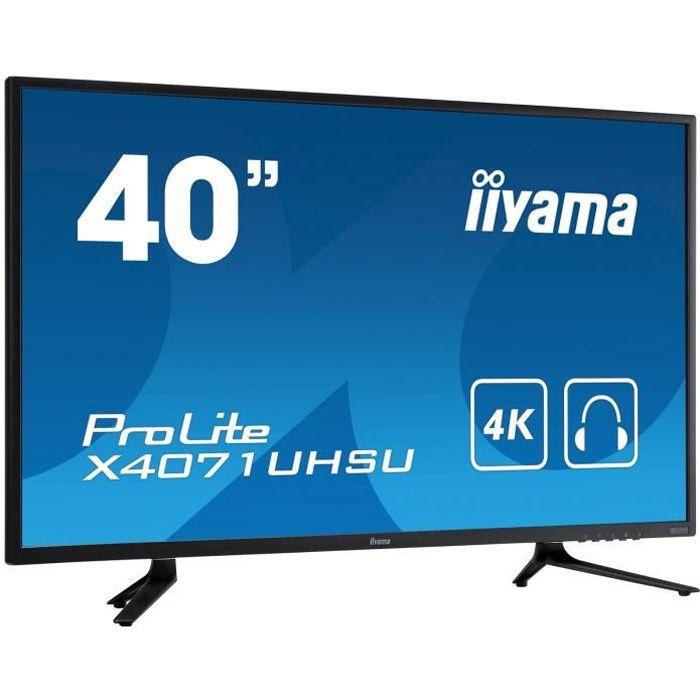 IIYAMA X4071UHSUB1 - Ecran 40\