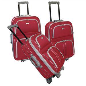 KINSTON Set de 3 valises SILVER