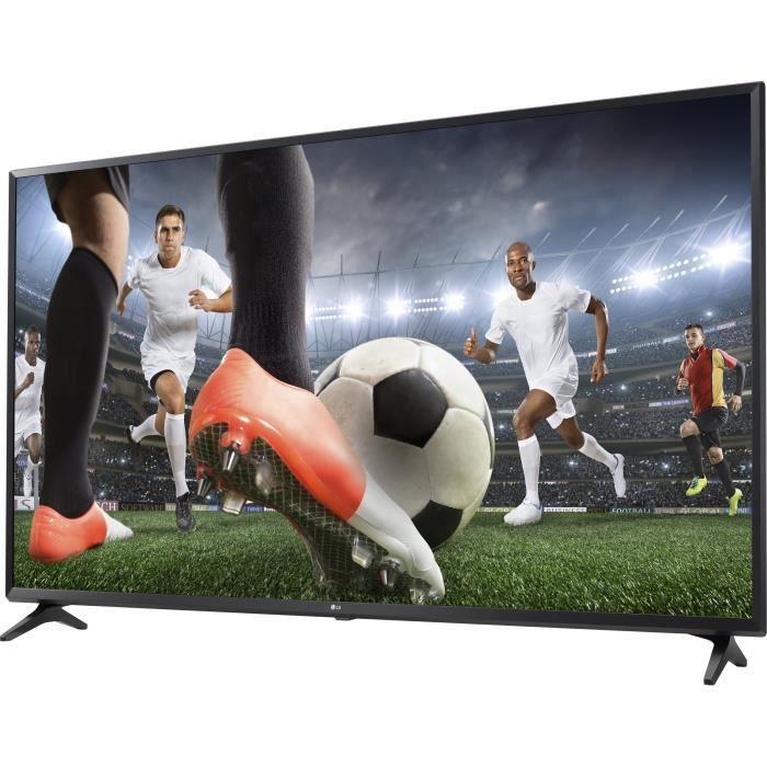 LG 55UK6100 TV LED 4K UHD 139 cm (55) - SMART TV - 3 x HDMI - 2 x USB - Classe énergétique A