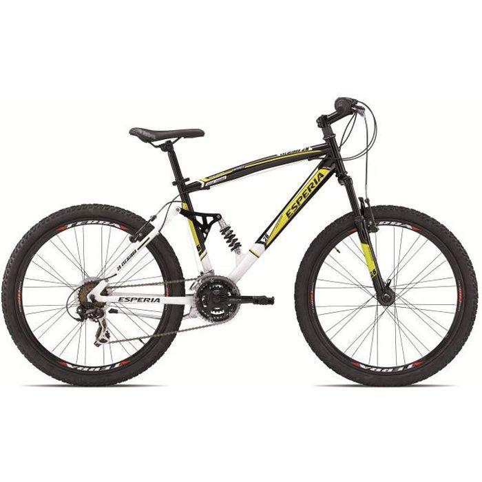 ESPERIA Vélo VTT Tout Suspendu 26\