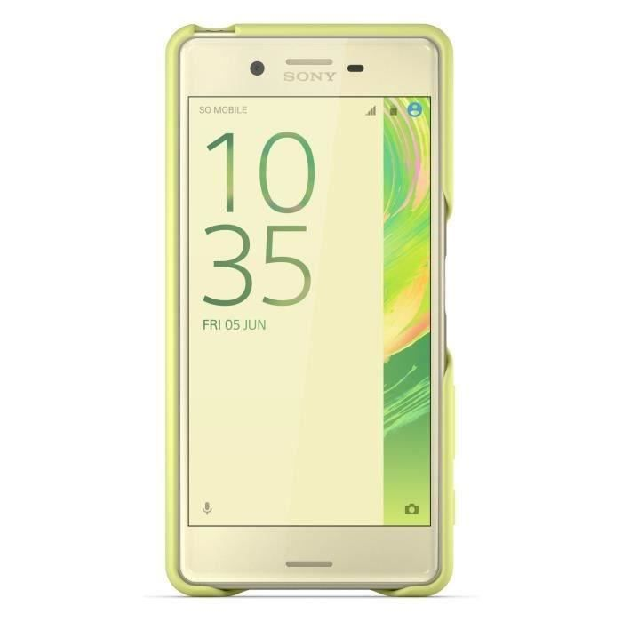 Sony Back Cover pour Xperia X Performance Jaune