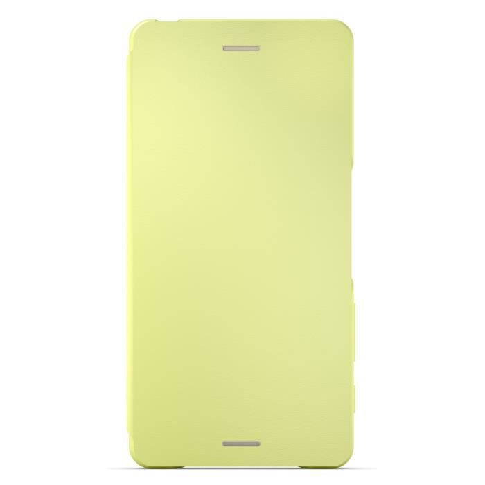 Sony Flip Cover pour Xperia X Performance Jaune