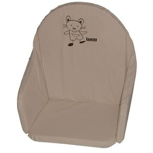 Looping Coussin sans sang Taupe