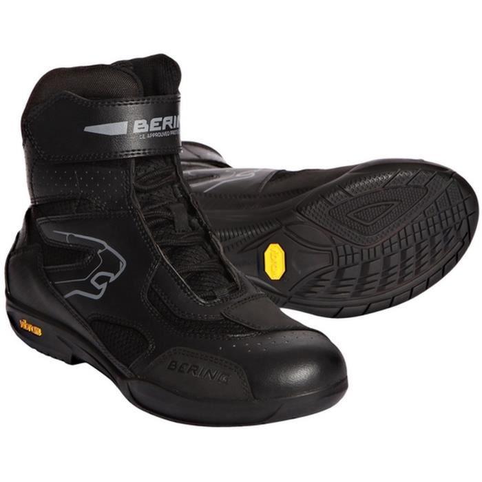 BERING Mercure Chaussures Moto Noir