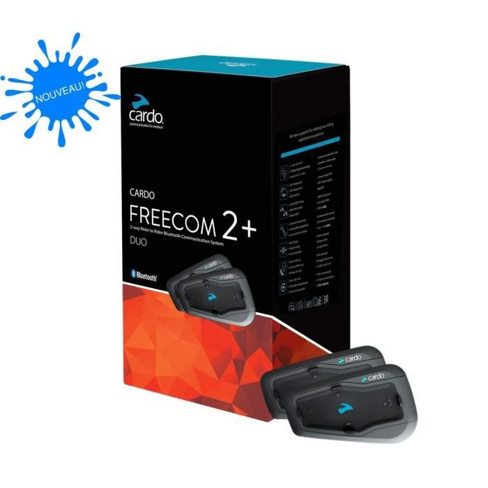CARDO Intercom moto - Scala Rider - Freecom 2 + Duo